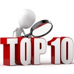 Top 10 des GAV